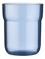 Blauwe Mepal waterglas kinderglas Mio 250 ml - deep blue