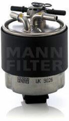 Mann-filter Brandstoffilter WK 9026
