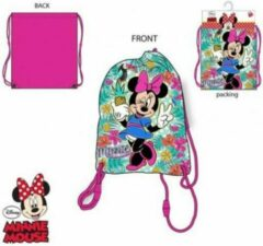 Minnie mouse gymtas flowers
