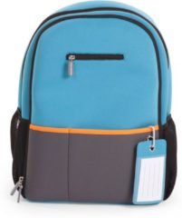 Blauwe Childwheels CHILDHOME - NEOPRENE VERZORGINGS RUGZAK AQUA BLUE