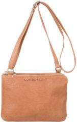 Bruine Cowboysbag Bag Adabelle Schoudertas Camel 2108