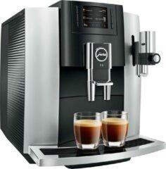 Zwarte Jura Impressa E8 - Espressomachine - Platina