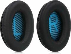 Kwmobile 2x oorkussens voor Bose Soundlink Around-Ear Wireless II koptelefoons - imitatieleer - voor over-ear-koptelefoon - zwart
