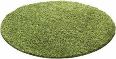 Adana Carpets Rond Hoogpolig vloerkleed - Life Groen Ø 200cm