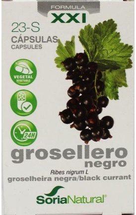 Afbeelding van Soria Natural Soria Ribes nigrum 23-S XXI 30 Capsules