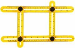 Topex Multifunctionele vierzijdige hoekmeter