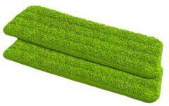 2 Ersatzbezüge für Sprüh-Mop Wenko grün