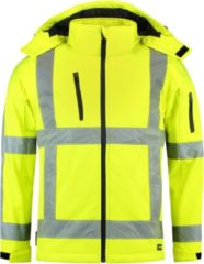 TRICORP SAFETY Tricorp Soft shell jack RWS - Workwear - 403003 - Fluor Geel - maat XXL
