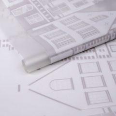 D-c-fix - Premium Statische Raamfolie - New Haven - 45 x 150 cm