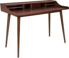 Dynamic24 Schreibtisch HELLO in Walnuss Dekor Computertisch Arbeitstisch Tisch