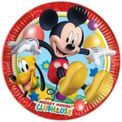 Folat Bordjes Mickey Mouse 23 Cm: 8 Stuks 81508p