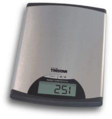 Zilveren Tristar Keukenweegschaal KW-2435