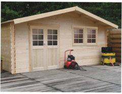 Solid tuinhuis 'Vernier' geïmpregneerd hout 26,46 m²
