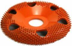 Oranje Saburrtooth Saburr Open carving wheel 100 mm, round, extra coarse