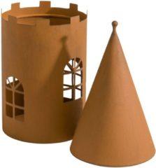 MiaVILLA Windlicht-Set, 2-tlg. Burg, Modern