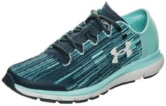 SpeedForm Velociti Laufschuh Damen Under Armour blue / green / white