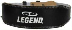 Legend Sports Gewichthefgordel Premium Zwart Maat S
