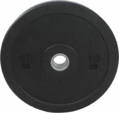 Zwarte Crossmaxx Hi-Temp Bumper Plate 10kg