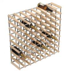 Bruine RTA Wijnrek van hout voor 72 flessen