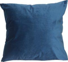 Blauwe Particolare Kussen Italian velvet Elegant blue 400