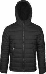 Jartazi Winterjas Bari Junior Nylon/polyester Zwart Mt 122/128