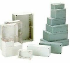 Velleman Behuizing In Polycarbonaat - Lichtgrijs Met Doorschijnend Deksel 220 X 146 X 55mm