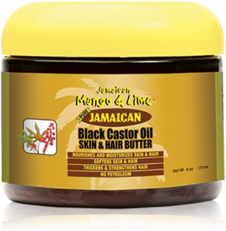 Afbeelding van Jamaican Mango Lime Jamaican Mango & Lime Black Castor Oil Skin & Hair Butter 177 ml