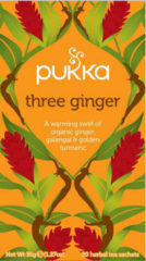Pukka Org. Teas Three Ginger (20st)