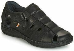 Zwarte Sandalen Casual Attitude ZIRONDEL