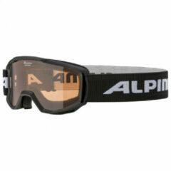 Alpina Piney Junior Skibril - 2020- Zwart | Categorie 2