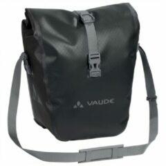 Grijze Vaude - Aqua Front - Fietstas maat 28 l zwart/grijs