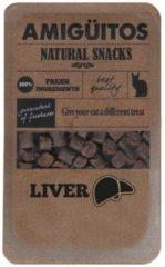 Amiguitos Cat Snack Liver - Kattensnack - 100 g