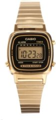 Goudkleurige Casio Collection LA670WEGA-1EF - Horloge - 25 mm - Staal - Goudkleurig