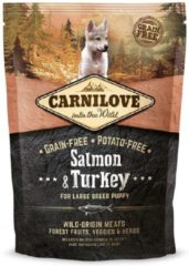 Carnilove salmon / turkey puppies large breed, 1,5 KG