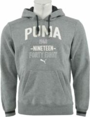 Grijze Puma - Style ATHL. Hooded Sweat FL - Heren - maat M