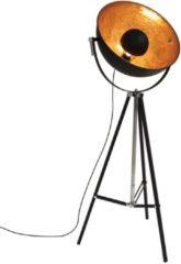 Zwarte Van de Heg VandeHeg Eclips - Vloerlamp - Spot - 1 lichts - Landelijk