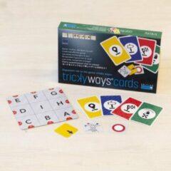 Rode Cuboro uitbreiding kaartspel voor Tricky Ways