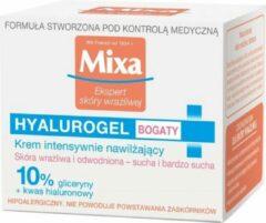 Mixa - Ekspert Skóry Wrażliwej Hyalurogel bogaty krem intensywnie nawilżający 50ml