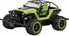 Carrera RC 370183019 Jeep Trailcat -AX- 1:18 RC modelauto voor beginners Elektro Terreinwagen Incl. accu en lader