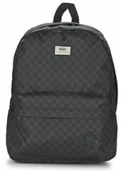 Zwarte Vans Old Skool II Backpack black / charcoal
