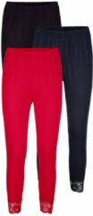 Marineblauwe Joggingbroek Blue Moon zwart/marine/rood