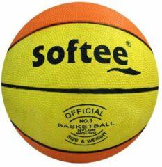 Gele Basketbal | Softee | | mt 3 | Kleine Basketbal | Outdoor | Indoor