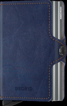 Afbeelding van Blauwe Secrid Twin Wallet Portemonnee Indigo 5-Titanium