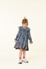 Turquoise Oilily Dabin jurk