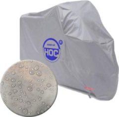 Zilveren CUHOC COVER UP HOC Topkwaliteit Diamond Sym Fiddle 2 Waterdichte ademende Scooterhoes met UV protectie