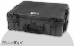 Rocabox - Universele trolley koffer - Waterdicht IP67 - Zwart - RW-5440-19-BFTR - Plukschuim