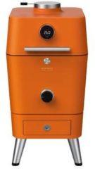 Oranje Everdure 4K Houtskool Barbecue / Kamado Barbecue met elektronische ontsteking