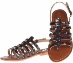 L'Atelier Tropezien - sandalen - maat 40 - dames - zwart