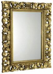 Sapho Scule barok spiegel met gouden omlijsting 70x100cm