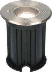 Roestvrijstalen HOFTRONIC™ Maisy dimbare LED grondspot rond RVS 5W 4000K IP67 straal waterdicht 3 jaar garantie